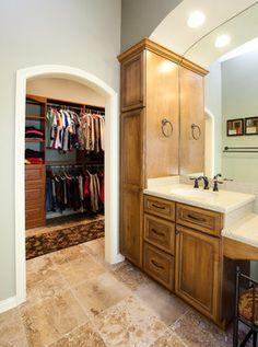tall towel closet?