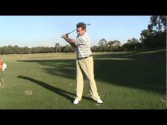 Proper Release of the Golf Club-Pulling the Handle
