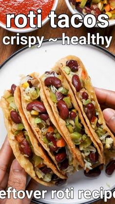 Leftovers Recipes, Veg Recipes, Indian Food Recipes, Snack Recipes, Cooking Recipes, Roti Recipe, Chaat Recipe, Vegetarian Snacks, Chapati