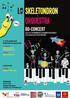 Tous au BD Concert !   Teatre Interégional Occitan – La Rampe Tio