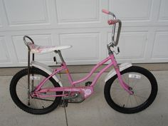 "This is the kind of bike I rode from childhood.  ♥ it!  The Columbia ""Misty Rose""  So glad I found this image online.  Brings back sweet memories.  What did you ride?"