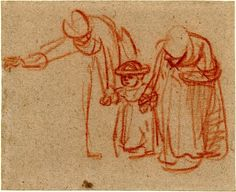 Rembrandt.fallhut - Gesture drawing - Wikipedia, the free encyclopedia