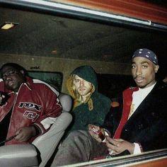 Notorius B.I.G , Kurt Cobain , 2Pac.