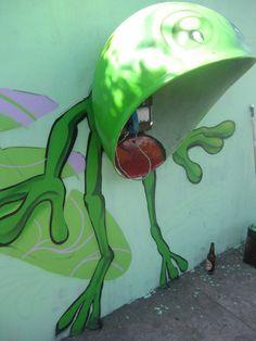 Graffiti 3D : Este é o verdadeiro tridimensional. huahuahu... | warleybombi