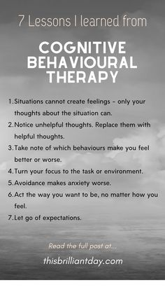I studied and practised Cognitive Behavioural Therapy (CBT) for a month. These are some of the lessons I learned from it. Cbt Therapy, Therapy Quotes, Therapy Tools, Play Therapy, Mental Health And Wellbeing, Mental Health Resources, Mental Health Awareness, Cbt Worksheets, Now Quotes