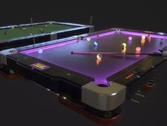 Diy Pool Table, Outdoor Pool Table, Pool Table Games, Custom Pool Tables, Pool Table Room, Billiard Pool Table, Pool Table Lighting, Billiard Room, Custom Pool Cues