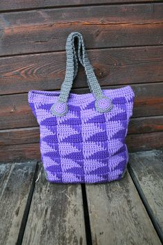 Crochet pattern crochet bag pattern crochet purse by LuzPatterns