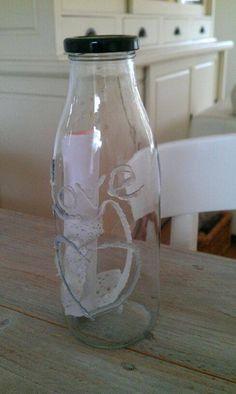 Flessenpost voor bijvoorbeeld een bruiloft