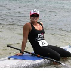 We love Hobie SUP team rider, Brandi Baksic! She's crazy fast in the water and on dry land, always a top finisher in every event she enters....