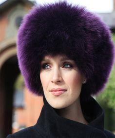 Fashionable Men Women Faux Fur Sable Hats