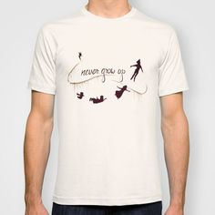 Disney Peter Pan Graphic T-Shirt: Never Grow Up MENS + WOMANS on Etsy, $25.80