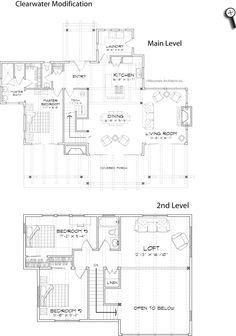 Lake House Floorplan On Pinterest Cottage Plans