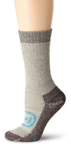 Keen Women's Targhee Medium Crew Sock, Dark Brown, Small by Keen. $17.00. The women's Targhee Med Crew is ultra-durable and ultra-comfy traditional medium-weight hiking sock