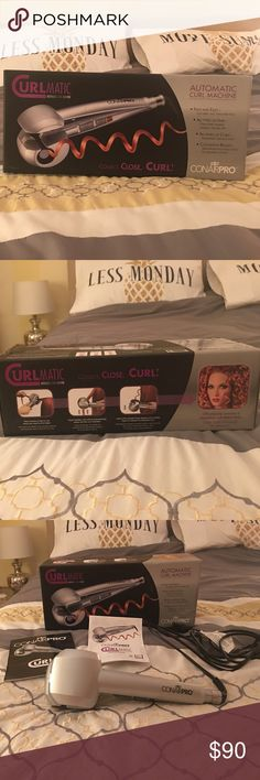 Conair Pro Curlmatic Conairpro Automatic Curl Machine New In Box With Instructionanual