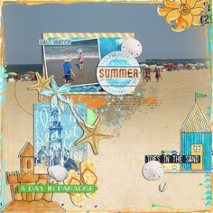 summer  beachscape - little butterfly wings and studio basic https://the-lilypad.com/store/Beachscape-Bundle.html