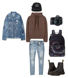 """""""art"""" by ashantimonete on Polyvore featuring River Island, Dr. Martens, Valentino, Eos, men's fashion and menswear"""