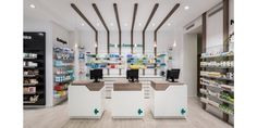 Farmacia Cuenca 136Valencia Clinic Interior Design, Clinic Design, Showroom Design, Pharmacy Store, Drug Store, Retail Concepts, Stationary Design, Booth Design, Retail Design