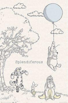 Buy Winnie The Pooh Splendiferous Maxi Poster online and save! Winnie The Pooh Splendiferous Maxi Poster Maxi Poster 61 × Our posters are rolled, wrapped and shipped in poster mailing . Winnie The Pooh Tattoos, Winnie The Pooh Drawing, Winnie The Pooh Pictures, Winnie The Pooh Classic, Winnie The Pooh Nursery, Cute Winnie The Pooh, Winnie The Pooh Quotes, Vintage Winnie The Pooh, Disney Kunst