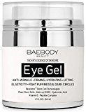 #4: Baebody Eye Gel for Dark Circles Puffiness Wrinkles and Bags  The Most Effective Anti-Aging Eye Gel for Under and Around Eyes  1.7 fl oz