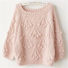 Women's Solid Color Fashion Sweaters (More Colors) - USD $ 73.79