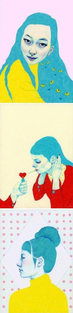 On the blog today: Natalie Foss http://www.artisticmoods.com/natalie-foss/