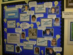 Our school council display