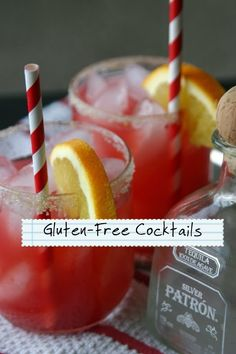Gluten-Free Cocktails and Mocktails | Easily Paleo #paleo #glutenfree #cocktails #mocktails