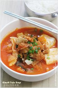 Cuisine Paradise | Singapore Food Blog | Recipes, Reviews And Travel: {Korean Cooking Project} Kimchi Tofu Soup - 김치순두부찌개