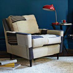 Patchwork Everett Chair | west elm