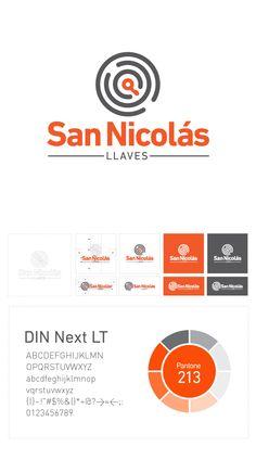 San Nicolás Llaves - Branding / Diseño de Logo by Mauro Lorenzo, via Behance }-> repinned by www.BlickeDeeler.de Corporate Design, Corporate Identity, Visual Identity, Event Branding, Branding Design, Logo Design, Mobile Design, App Design, Graphic Design Inspiration