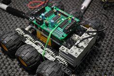 Arduino motor shield LOGO bot