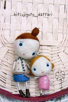 【hitsujigoto_dattari】♥ #Felt #Wool #Doll