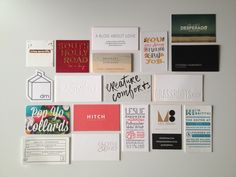 Alt Summit Business Cards | @Kelly Teske Goldsworthy Teske Goldsworthy Beall | Design Crush