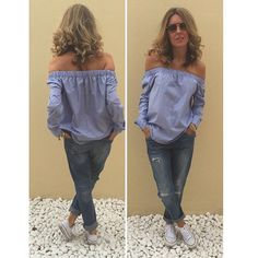 Get stripy this Spring with this cool cold shoulder shirt!  Here we've given it a casual look grab yours this weekend down @ripemarket love Tiny-Toots  #instagood #instalike #instamood #instadaily #potd#ootd #Spring #ss16 #brunch #boyfriendjeans #like4like #lookbook #getthelook #fashionblog #blogger #myuae #yummymummy #instaboutique #handmade #stripes #coldshoulder #shirt