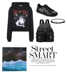 """Look2"" by shishakova on Polyvore featuring McQ by Alexander McQueen, Dolce&Gabbana, Prada and iCanvas"