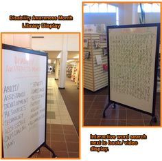 Who can resist a giant word search? Created this interactive word search to engage my community college library users.