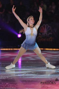 Ashley Wagner -Grey Figure Skating / Ice Skating dress inspiration for Sk8 Gr8 Designs.
