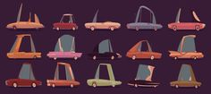 'Symphony of Love' music video by James Gilleard, via Behance