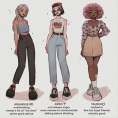 Choose your fighter ✊🏻 planet edition; (shoutout to the sister Pluto whom i wanted to draw but who's had her planet card revoked) . Cute Art Styles, Cartoon Art Styles, Fashion Design Drawings, Fashion Sketches, Aesthetic Art, Aesthetic Clothes, Boohoo Outfits, Kleidung Design, Drawing Anime Clothes