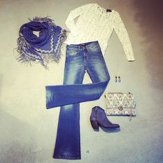 Las Lunas Fashion  We love FLAIRED jeans #lois jeans #morstrom