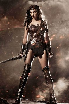 Gal Gadot's Wonder Woman in Batman v. Superman: Dawn of Justice (2016)