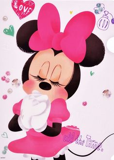 Imagen de disney and minnie mouse