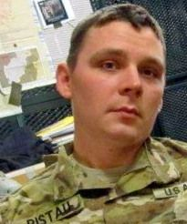 Army Sgt. Michael E. Ristau, 25, of Rockford, Illinois. Died July 13, 2012, serving during Operation Enduring Freedom. Assigned to 5th Battalion, 20th Infantry Regiment, 3rd Stryker Brigade Combat Team, 2nd Infantry Division, Joint Base Lewis-McChord, Washington. Died in Qalat, Zabul Province, Afghanistan, of wounds sustained when his vehicle was attacked with an enemy improvised explosive device.