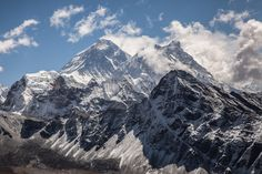 #montañas, #nubes, #naturaleza, #nieve