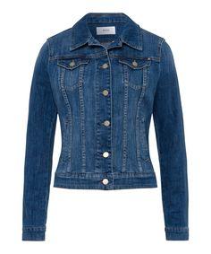 Damen BRAX Style Miami Jeansjacke in authentischem Style blau    04037124554078  mode  damenmode   388fd6b2ce