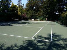 Tennis Pitch Refurbishment in Ballynaskeagh 8