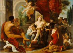 Mythology Painting - Hercules And Omphale by Luigi Garzi Oil On Canvas, Canvas Prints, Peter Paul Rubens, Getty Museum, Gay Art, Hercules, Luigi, Art Boards, Art History