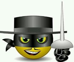 Zorro smile