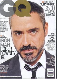 Robert Downey Jr. - GQ Magazine [United States] (May 2008)