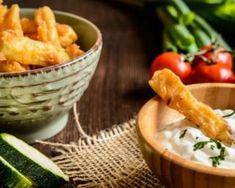 Recette de Frites de courgettes Le Curry, Carrots, Meat, Chicken, Vegetables, Gluten, Food, Zucchini Sticks, Zucchini Fries
